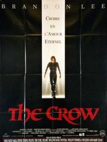 THE CROW BOX OFFICE FRANCE 1994