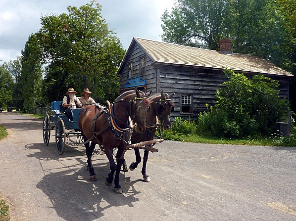 Upper Canada Village chariot