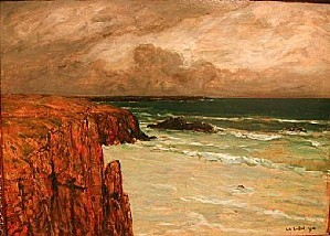 Charles cottet seascape1912