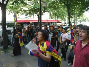 lhakar paris 99year independence Tibet 2