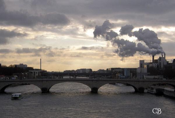 Paris les ponts sur la Seine