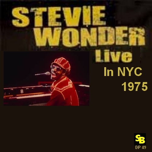 "Stevie Wonder : CD "" Live In NYC 1975 "" SB Records DP 49 [ FR ]"