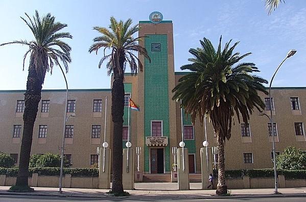 800px-Eritrea - Government building, Asmara