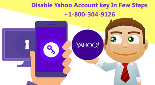 Disable Yahoo Account key In Few Steps