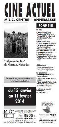 Programme du 15 janvier au 11 février 2014