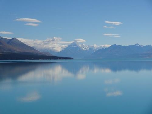 Ile du Sud (1) : lacs turquoises, montagnes et moutons