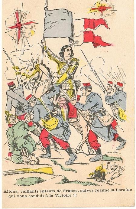 Jeanne d'Arc...et la Grande Guerre !