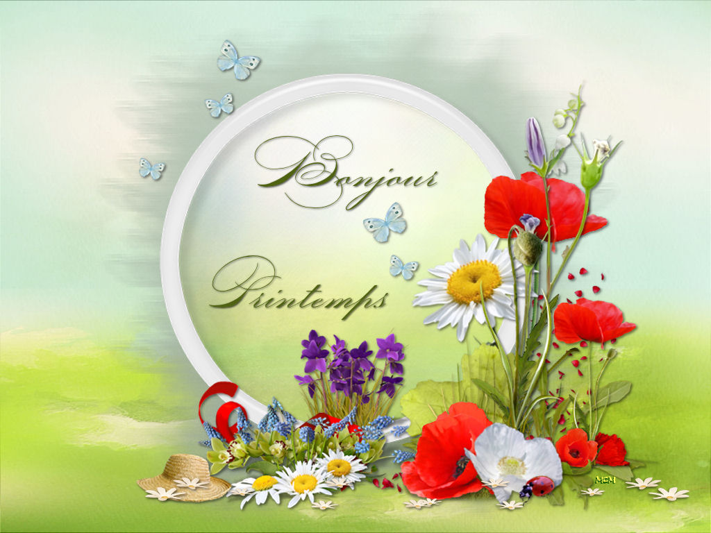Fond ecran printemps page 4 mcreations for Wallpaper gratuit