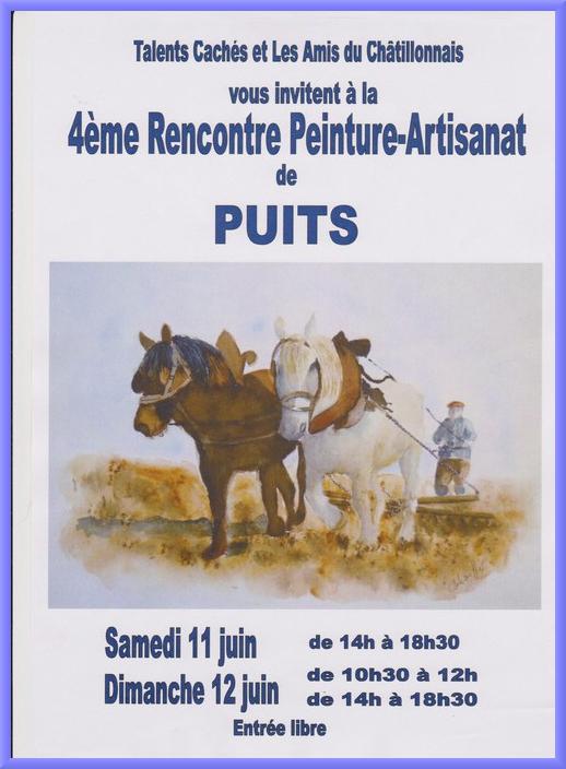 """""""Talents cachés"""" de Puits a présenté son exposition annuelle de peintures et artisanat"""