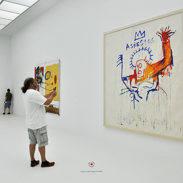 Jean-Michel Basquiat Collection Lambert Exposition Point to Point Studio