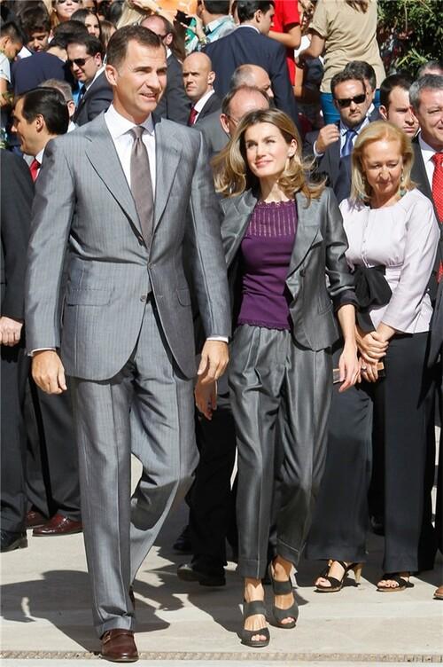 Letizia et Felipe à Cordou