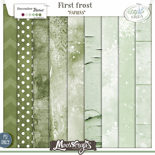 First frost - papiers