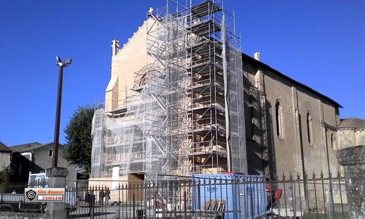 L'Eglise Saint-Sauveur et Saint-Martin de Saint Macaire en gironde