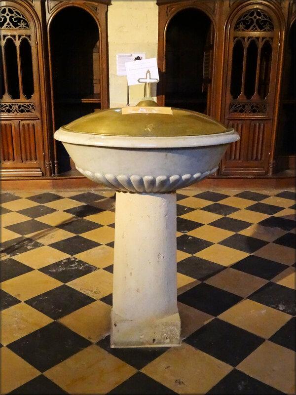 Photo Fonts Baptismaux Notre Dame de Verdelais