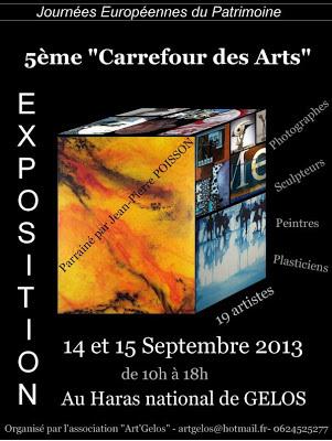 Carrefour des Arts 2013 au Haras National de GELOS