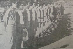 9.12.1979 à Casablanca Maroc-EN 1-5 remplaçant sans jouer