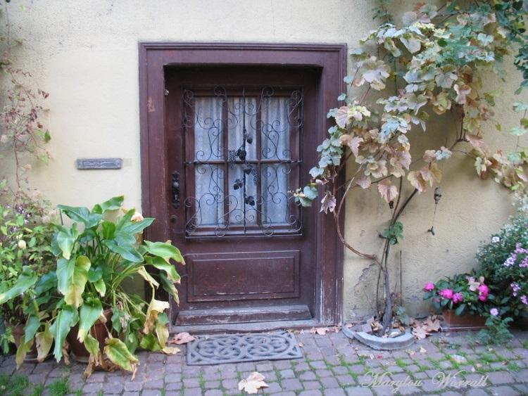 Eguisheim (68) 6/ : Rue du Rempart Sud fin
