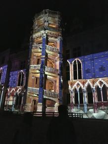 Si Blois m'était conté Escalier François 1er