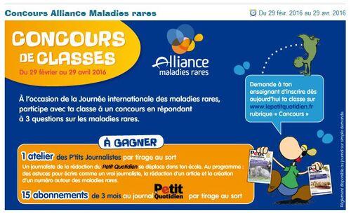 Concours Alliance Maladies Rares