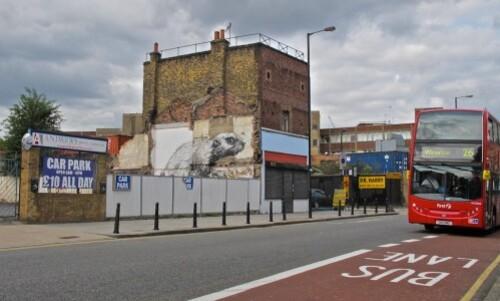 Londres street-art Hackney Roa rat 5