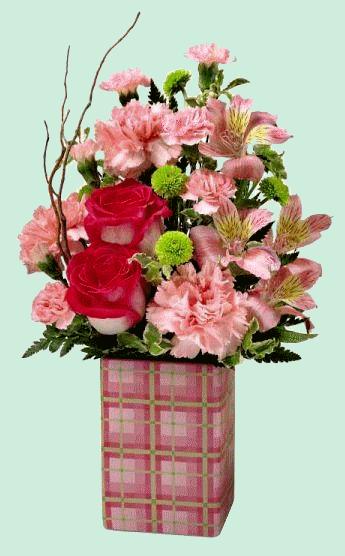 Les fleurs et leur contenant