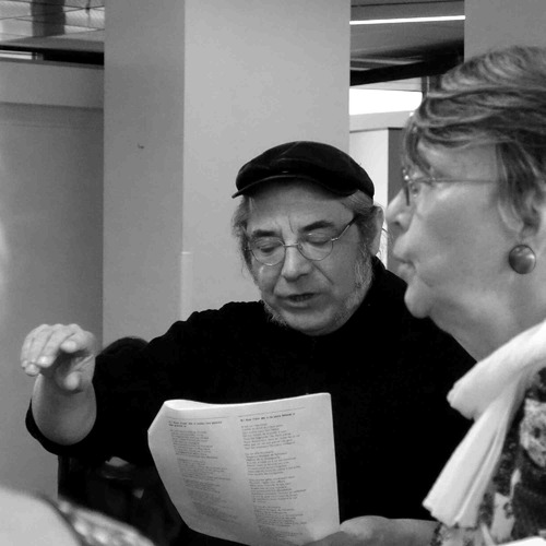Atelier Crieurs publics / à l'EHPAD © Jean-Paul Guimbretière