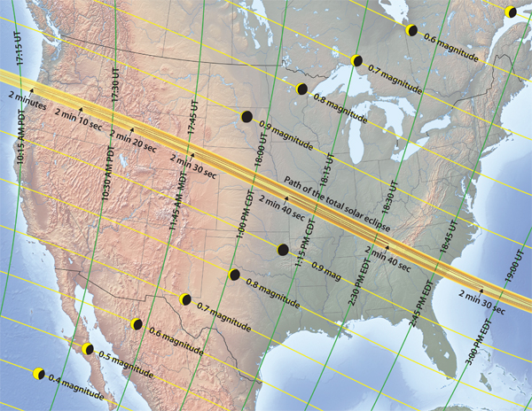 total solar eclipse 2017 map