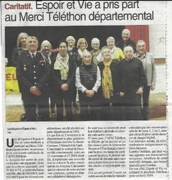 Decazeville :  Merci Téléthon départemental