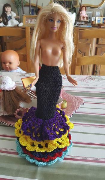 Barbie Caméléon..les avancées