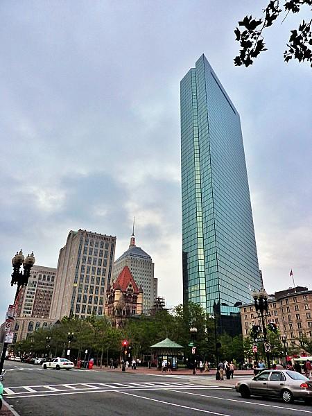 Boston Back Bay John Hancok Tower