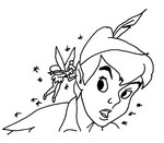 Coloriage Fée clochette - Tinkerbell Coloring