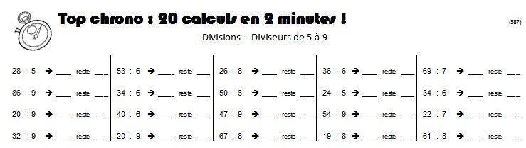 Tables de division imprimer new calendar template site - Exercice tables de multiplication ce2 ...
