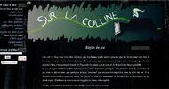 le thème de Sur la Colline, le jeu interactif que j'ai ouvert en début d'année 2016