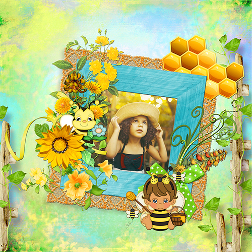 KIT HONEY BEE UNE COLLAB DESCLICS JOSYCREATIONS