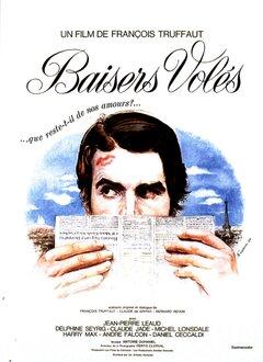 BAISERS VOLES - AFFICHE FRANCE - FRNCOIS TRUFFAUT