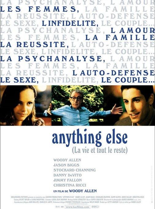 ANYTHING ELSE BOX OFFICE FRANCE 2003
