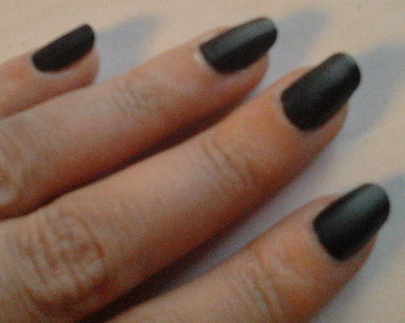 test vernis mat sephora et craquelé make me up