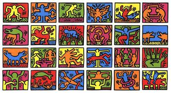 Keith Haring Période 1