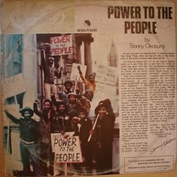Sonny Okosuns Ozziddi - Power To The People - Complete EP