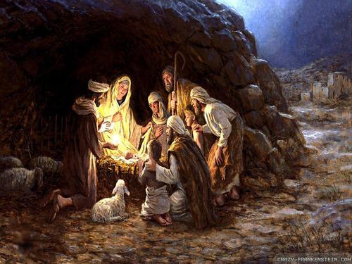 C'est NOËL, aujourd'hui Jésus est né....