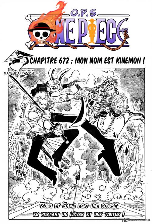 One Piece chapitre 672 FR