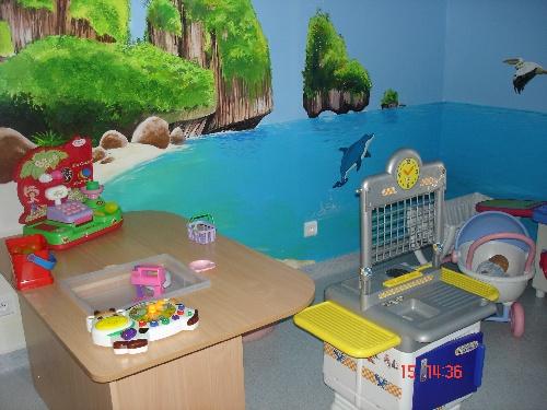 Peinture de pédiatrie