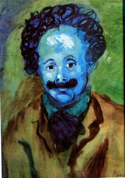 Picasso /13/ la période bleue(8) - Les pauvres pierreuses ! (2)
