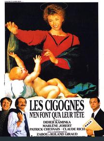 LES CIGOGNES N'EN FONT QU'A LEUR TETES TOP FRANCE 1989