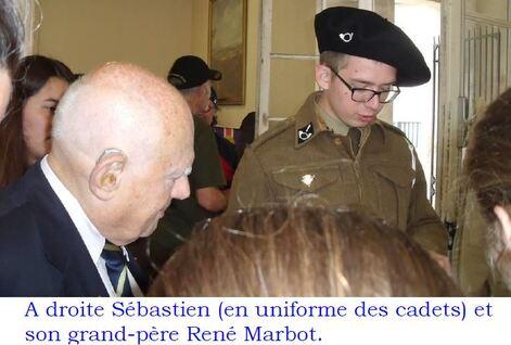 * Vidéo - Conférence de René MARBOT sur les Cadets de la France Libre (octobre 2017)