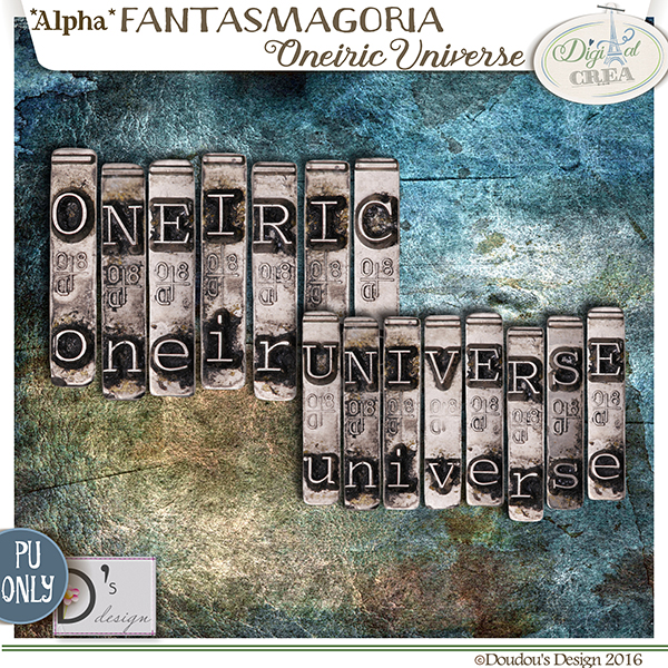 FANTASMAGORIA - ONEIRIC UNIVERSE - STEAMPUNK BY DOUDOU'S DESIGN