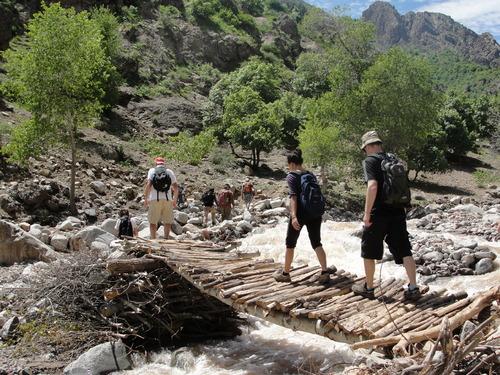 La montagne tadjik
