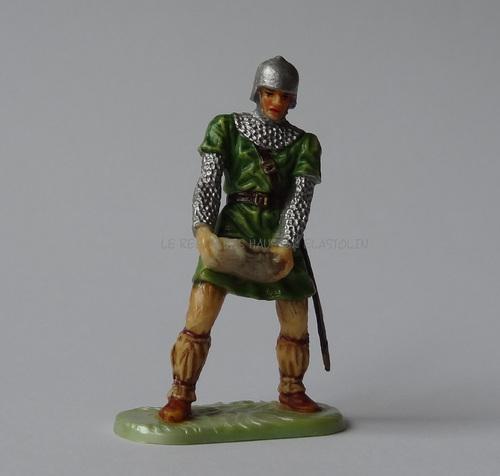 Réf: 8836 Normand portant une pierre pour catapulte 1ère peinture