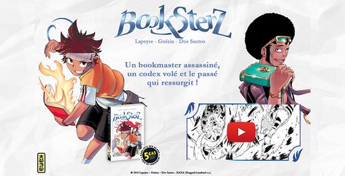 Booksterz T1 & T2 - Rémi Guerin, Sylvain Dos Santos & Guillaume Lapeyre