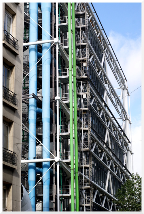 Paris. Centre Pompidou.